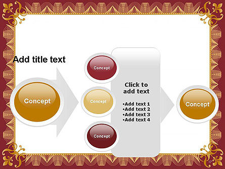 Certificate of Achievement Frame PowerPoint Template Slide 17