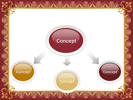 Certificate of Achievement Frame PowerPoint Template Slide 4