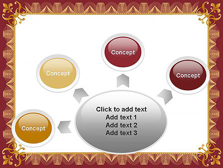 Certificate of Achievement Frame PowerPoint Template Slide 7