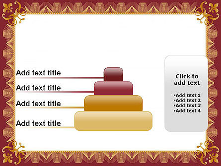 Certificate of Achievement Frame PowerPoint Template Slide 8
