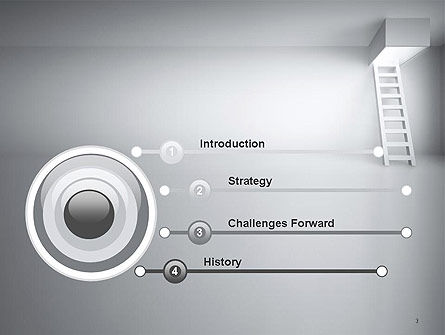 Ladder Upwards PowerPoint Template Slide 3
