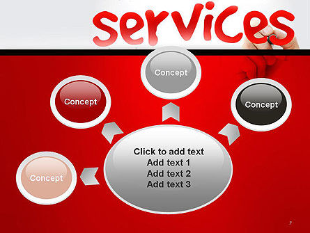 Developing a Perfect Services PowerPoint Template Slide 7