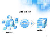 Blue Sky With a Glow Abstract PowerPoint Template#17