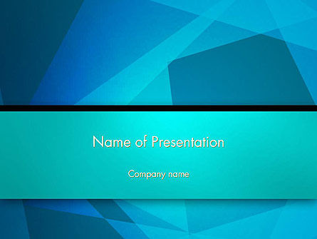Overlapping Transparent Squares PowerPoint Template