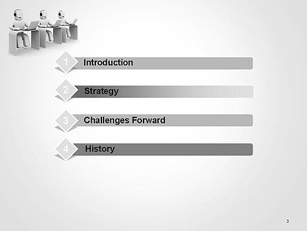 Outbound Call Center PowerPoint Template, Slide 3, 14164, Careers/Industry — PoweredTemplate.com