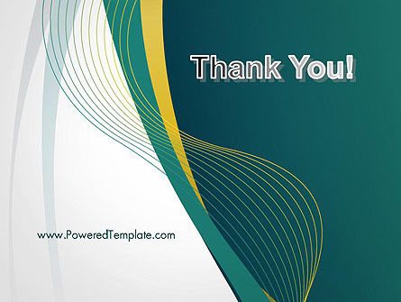 Sinuous Lines PowerPoint Template Slide 20