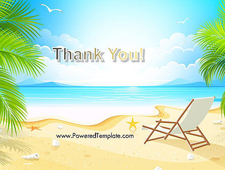Sunny Beach Vacation PowerPoint Template Slide 20