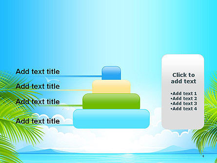 Sunny Beach Vacation PowerPoint Template Slide 8