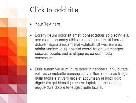 Heat Map Abstract PowerPoint Template, Slide 3, 14169, Abstract/Textures — PoweredTemplate.com