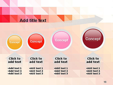 Heat Map Abstract PowerPoint Template Slide 13