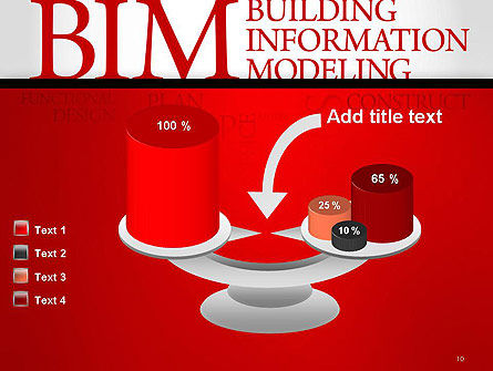 BIM Word Cloud PowerPoint Template Slide 10