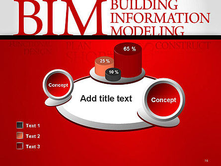 BIM Word Cloud PowerPoint Template Slide 16