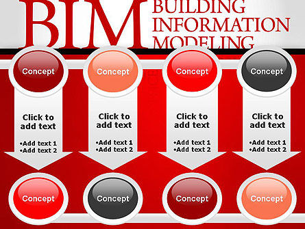 BIM Word Cloud PowerPoint Template Slide 18