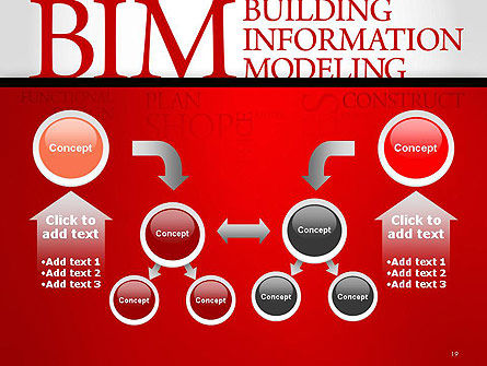 BIM Word Cloud PowerPoint Template Slide 19
