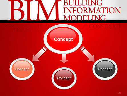 BIM Word Cloud PowerPoint Template, Slide 4, 14170, Careers/Industry — PoweredTemplate.com
