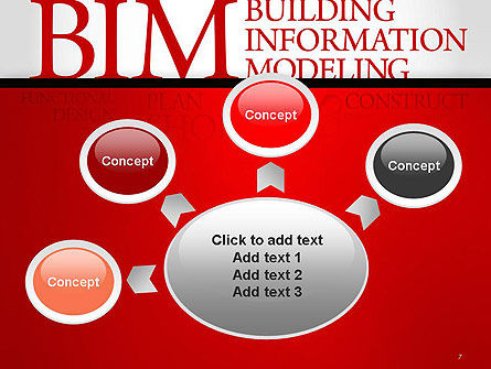 BIM Word Cloud PowerPoint Template Slide 7