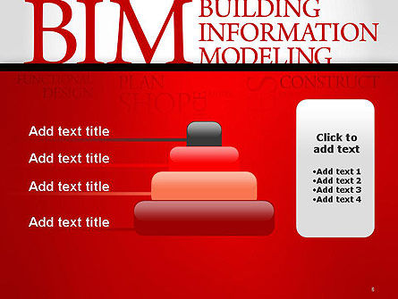 BIM Word Cloud PowerPoint Template Slide 8