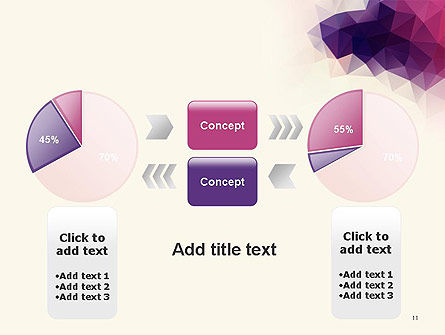 Abstract Triangle Polygonal PowerPoint Template Slide 11