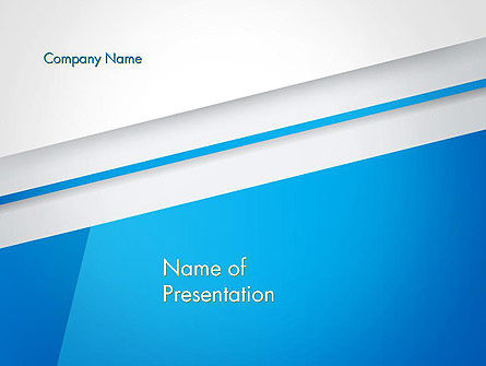 Light Blue Abstract PowerPoint Template