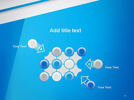 Light Blue Abstract PowerPoint Template Slide 10