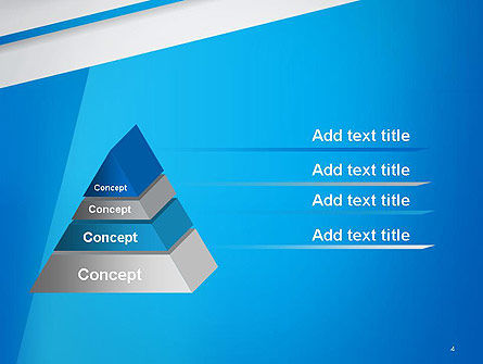 Light Blue Abstract PowerPoint Template Slide 4