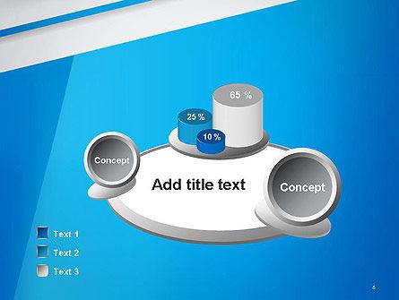 Light Blue Abstract PowerPoint Template Slide 6