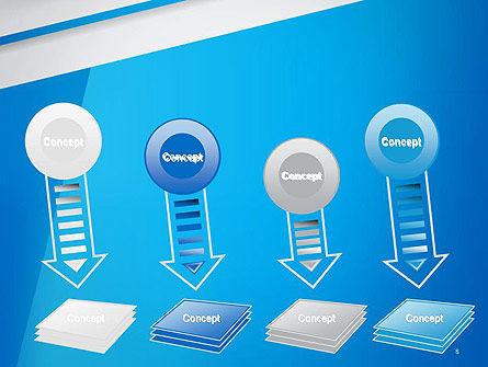Light Blue Abstract PowerPoint Template Slide 8