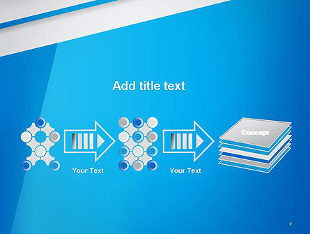 Light Blue Abstract PowerPoint Template Slide 9