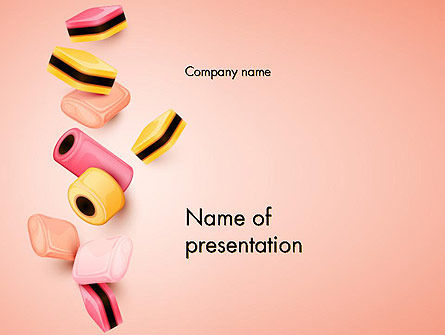 Sweet Candies PowerPoint Template