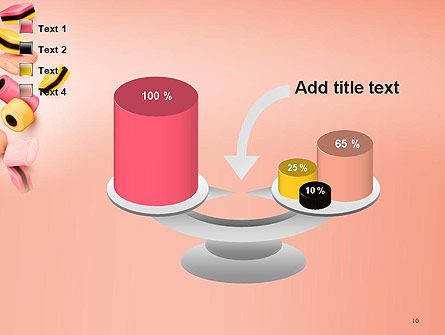 Sweet Candies PowerPoint Template Slide 10