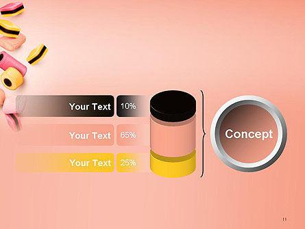 Sweet Candies PowerPoint Template Slide 11