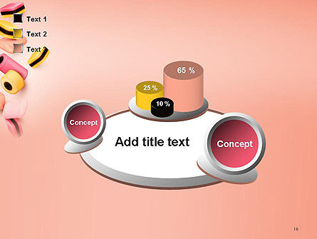 Sweet Candies PowerPoint Template Slide 16