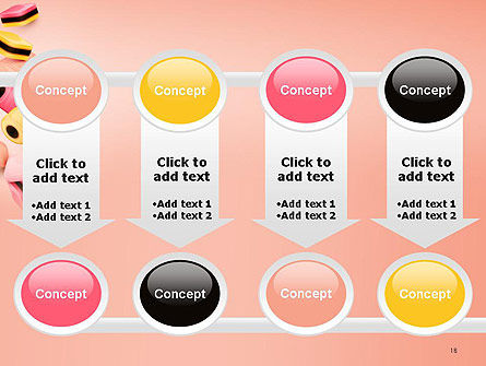 Sweet Candies PowerPoint Template Slide 18