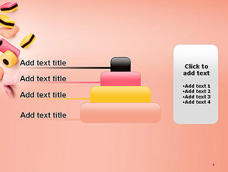 Sweet Candies PowerPoint Template Slide 8