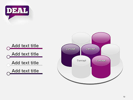 Word Deal PowerPoint Template Slide 12