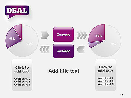 Word Deal PowerPoint Template Slide 16