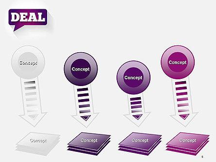 Word Deal PowerPoint Template Slide 8