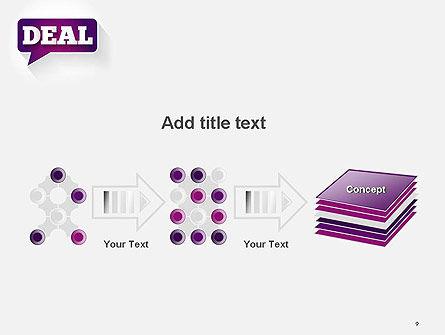 Word Deal PowerPoint Template Slide 9