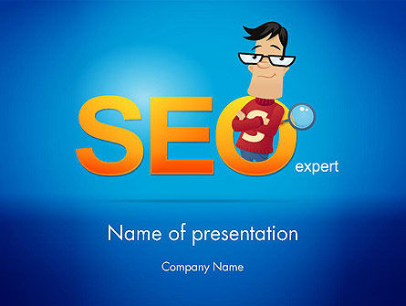 SEO Expert PowerPoint Template, 14181, Careers/Industry — PoweredTemplate.com