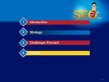 SEO Expert PowerPoint Template, Slide 3, 14181, Careers/Industry — PoweredTemplate.com