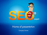 Careers/Industry: SEO Expert PowerPoint Template #14181