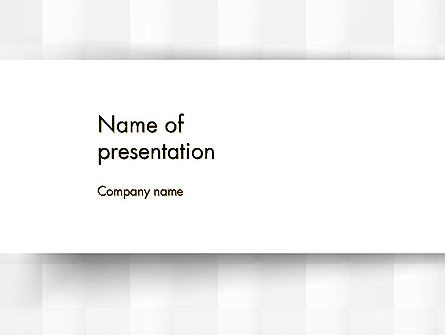 Neutral Gray PowerPoint Template