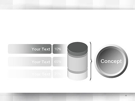 Neutral Gray PowerPoint Template Slide 11