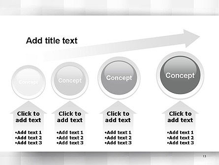 Neutral Gray PowerPoint Template Slide 13