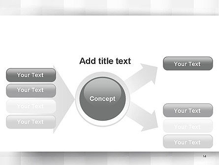 Neutral Gray PowerPoint Template Slide 14