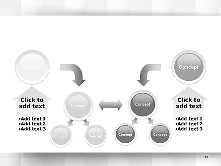 Neutral Gray PowerPoint Template Slide 19
