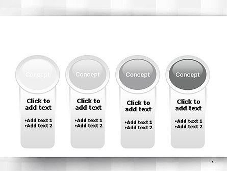 Neutral Gray PowerPoint Template Slide 5