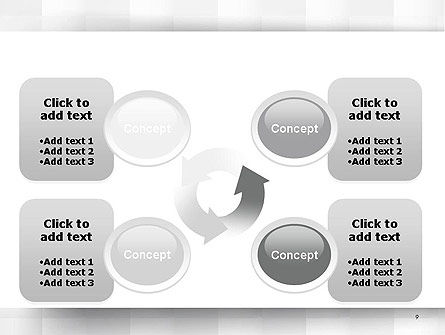 Neutral Gray PowerPoint Template Slide 9