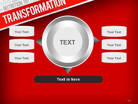 Transformation Word Cloud PowerPoint Template Slide 12