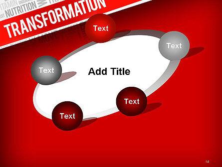 Transformation Word Cloud PowerPoint Template Slide 14
